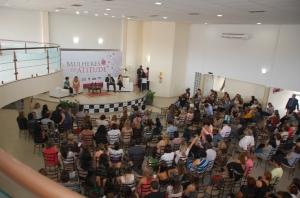 Comemoração ao Dia Internacional da Mulher - Evento realizado pela Delegada Rosely Molina, da Polícia Civil do Mato Grosso do Sul. Março de 2014.
