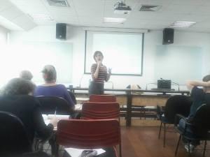 """Aula no Instituto Legislativo Paulista: """"O que são Direitos Humanos das Mulheres? - Parte 2."""" Abril de 2014."""